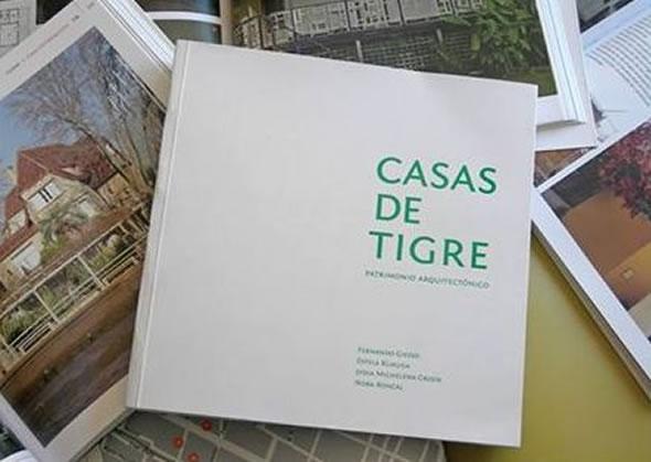 """Presentan el libro """"Casas de Tigre"""""""