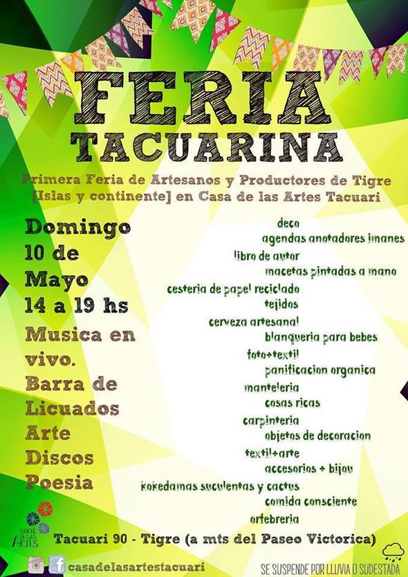 Mayo en a la Casa de las Artes Tacuarí Tigre