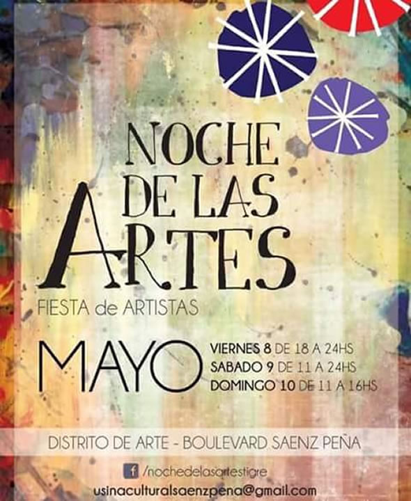 4ª Edición de La Noche de las Artes Tigre