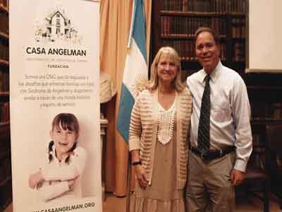 Casa Angelman y una capacitación de nivel internacional