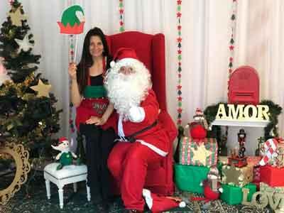 Papá Noel llegó a Lirios del Talar