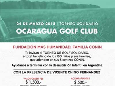 Torneo Solidario de Golf organizado por Fundación Mas Humanidad