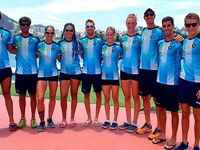 Remeros tigrenses clasificaron a los Juegos Panamericanos 2019