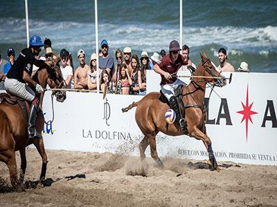 Torneo Beach Polo en Cariló