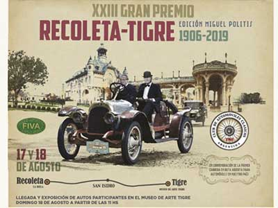 Autos clásicos en Tigre