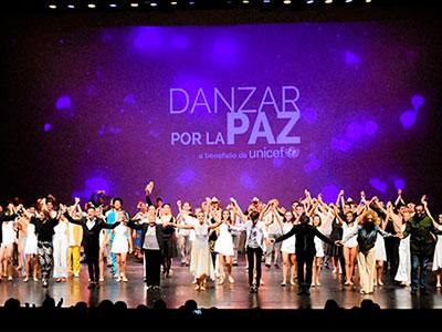Llega Danzar por la Paz, la gala a beneficio de UNICEF