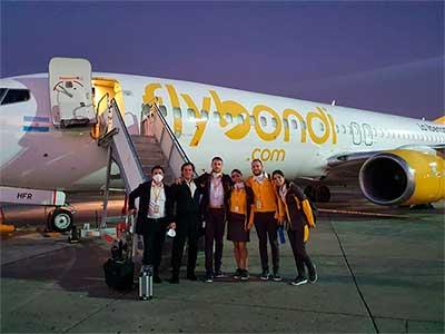 Flybondi realizará vuelos de repatriación