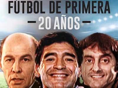 Especial Futbol de Primera 20 años