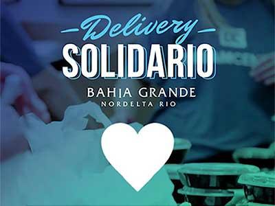 Delivery Solidario en Bahía Grande