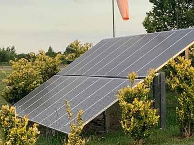 Energía solar en las instituciones de Nordelta