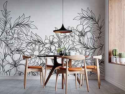 Murales decorativos en vinilo, tendencia en deco