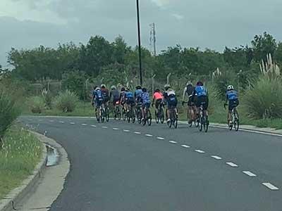 Disposición sobre el ciclismo en Nordelta