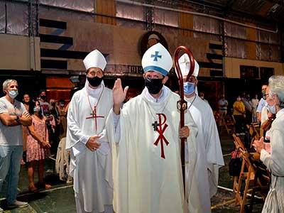 Raúl Pizarro es el nuevo obispo auxiliar de la diócesis de San Isidro