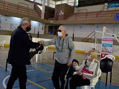 Vacunas COVID-19 en Tigre