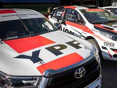 YPF presentó sus nuevos autos Súper TC2000 en Nordelta
