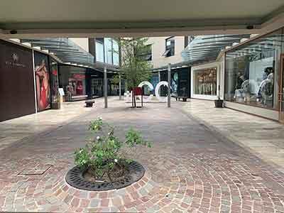 Cierre de centros comerciales y plazas en Tigre
