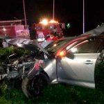 Murieron dos jóvenes en un accidente de auto en Tigre