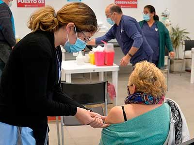 Jornada especial de vacunación Covid en Tigre