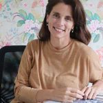 Helena Estrada en el Reading & Book Launch de Hilton Pilar