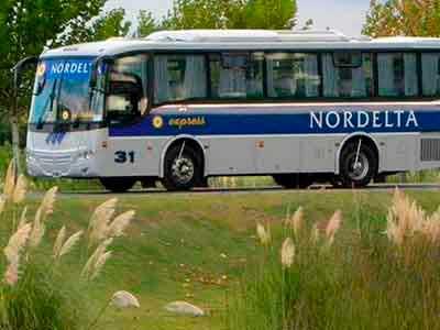 Transporte desde y hacia Nordelta